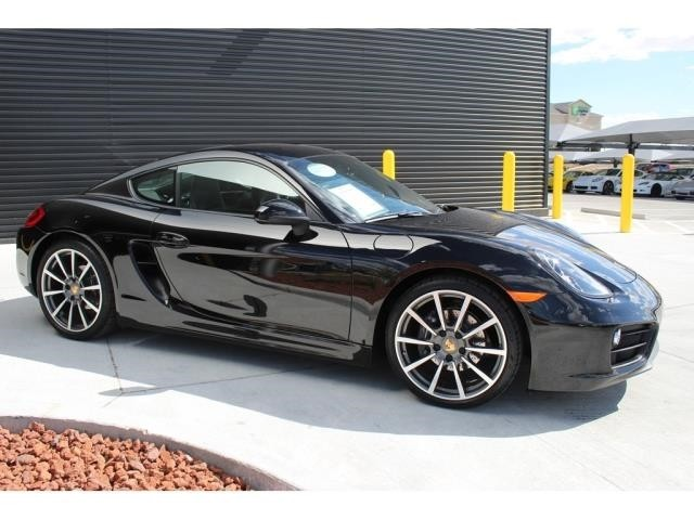 Certified Pre-Owned 2016 Porsche Cayman Black Edition Black Edition